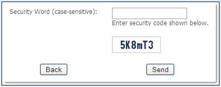 CAPTCHA Feature